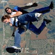 First Tandem Skydive in Nashville