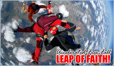 Skydiving in Lewisburg Tennessee