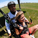 Skydiving in Crump